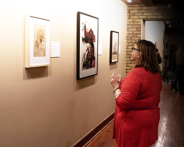 UND Art collections showcases new exhibit