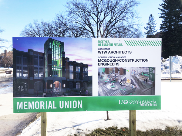 New Memorial Union Updates
