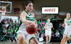 Oral Roberts Height Too Much for UND